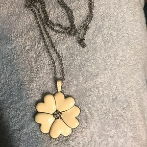 Lia Sophia original flower necklace
